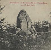 Tannenberg - Gedenkstein